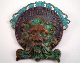 Filigree Greenman Brooch, Pagan Brooch