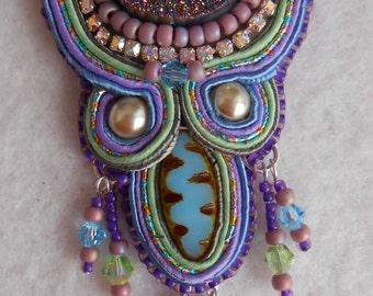 Soutache & Seed Bead Embroidery