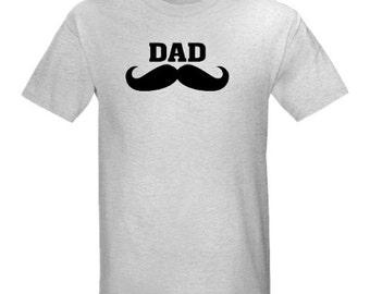 DAD Mustache T shirt