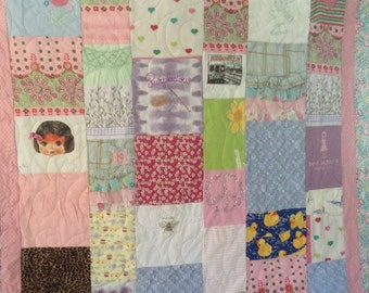 Baby Quilt / 1st Year Memory Quilt