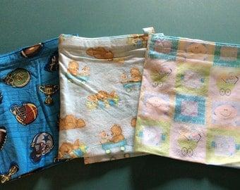 Nursing Covers, three different prints