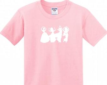 Disney Princess O-H-I-O Toddler Shirt
