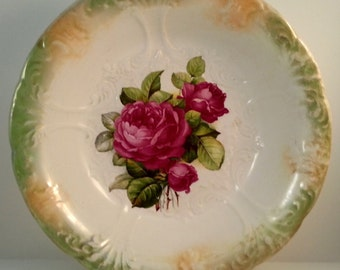Royal Bonn Porcelain Bowl, Franz Anton Mehlem, Antique German China