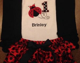 Birthday Ladybug outfit