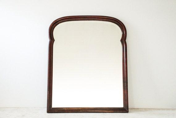 Antique Wood Mirror Beveled Mirror Decorative Wall Mirror