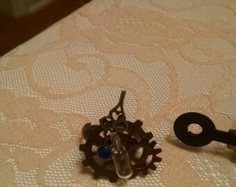 Steampunk Gear and Clock Ring Lightbulb Hands