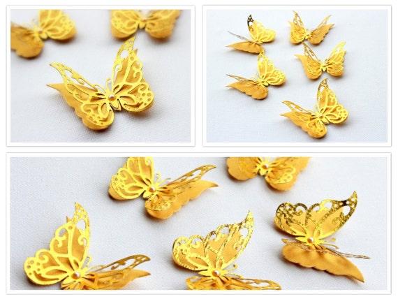 Items similar to Gold wall art, Gold Nursery decor, Gold ...