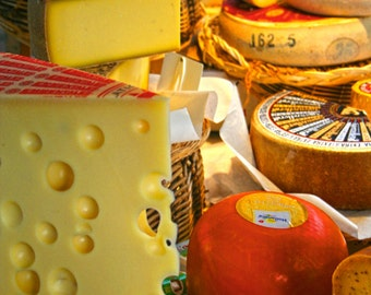 French cheese display photograph 6x9 photo size 8x12 print 11x17  photography