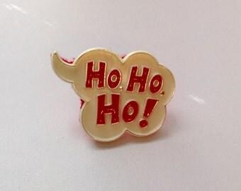 Christmas ring, holiday ring, novelty ring, Ho, Ho, Ho ring