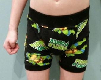 Waterproof Underwear Washable Absorbent Custom Boxer Briefs Sizes  4-10