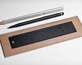 Black Ruler - 6 inch