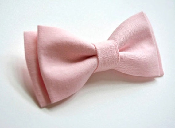 light pink bow tie bow tie mens bow tie bow
