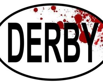 Roller Derby Bumper Sticker