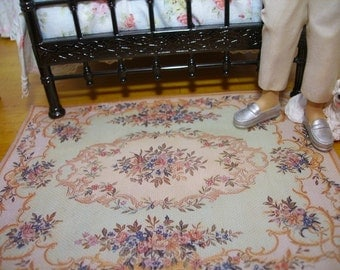 Miniature Rug for Dollhouses. 1 : 12 scale