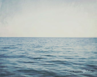 Ocean Art, Landscape Photography, Seascape Photo, Tranquil Art, Serene Art, Coastal Photo, Meditation, Yoga Art, Large Wall Art Print