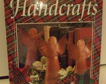 Christmas Handcrafts Book by Oxmoor House