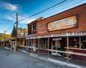 The General Store, along Historic Route 66 in Oatman, Arizona - Desert Landscape Nature Photography Fine Art Print or Wrapped Canvas