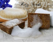 4 oz Raw African Black Soap fresh and sealed