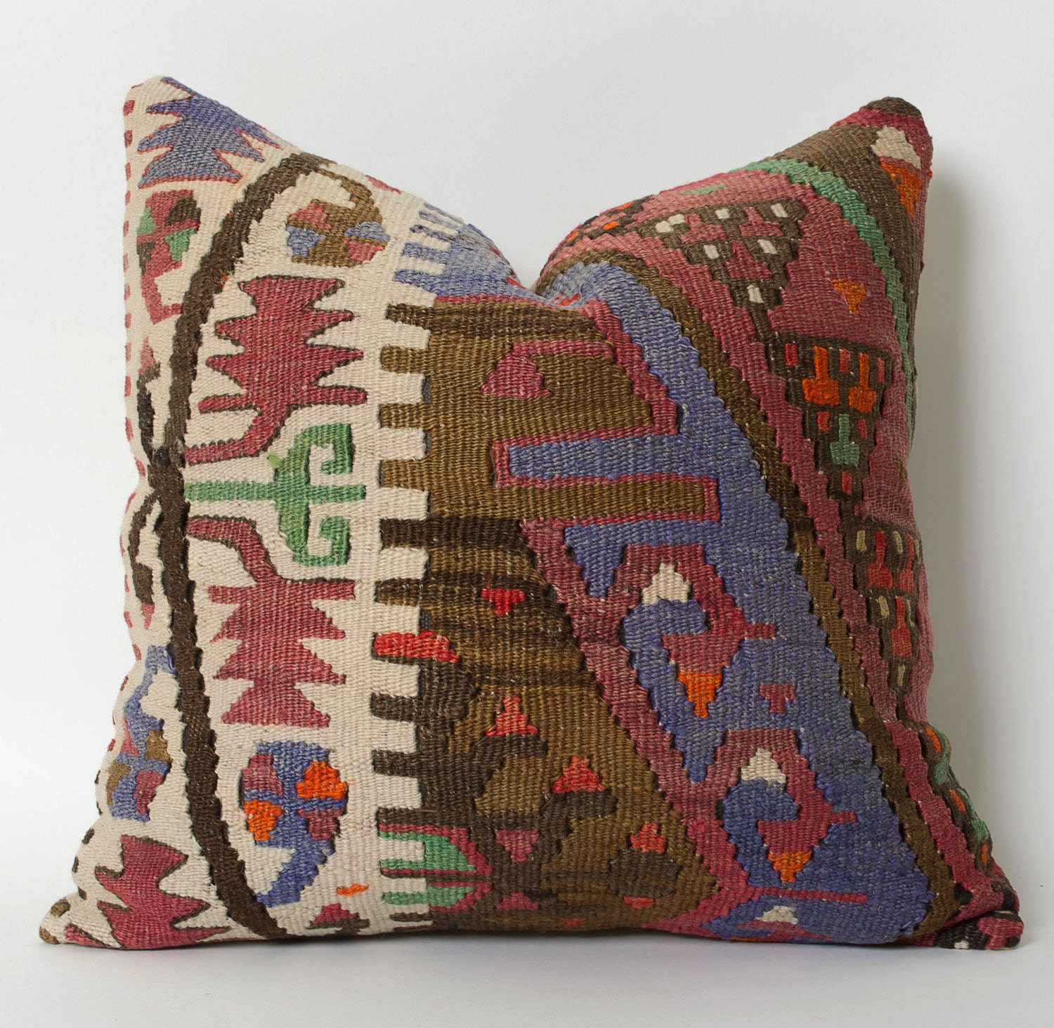 Kilim Pillowcase Kilim Throw Pillow Turkish Pillow