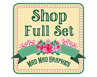 Custom Logo and Shop Graphics for Etsy Banners & Facebook Covers