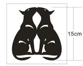 Te KOOP: De Terriër van de stier van UniQ vinyl sticker