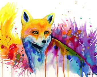 "Art Print ""Fox"""