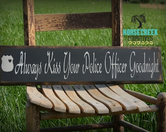 Police Officer Gift, Police Wife, Police Girlfriend, Police Decor