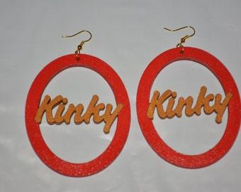 Kinky Hair Earrings,Afrocentric jewelry,African Jewelry,African Earrings,Africa Continent,Afrocentric earrings,Natural Hair Earrings,Rasta