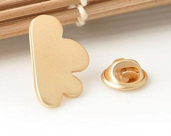 Gold Cloud Pin