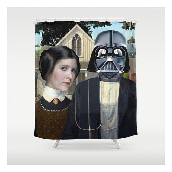 Princess leia amp darth vader american gothic custom made shower