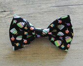Birthday, Birthday Cake, Colorful Bow, Happy Birthday, Candle, Kids Bow Tie, Hairbow, Mens Bow Tie, Toddler Bow Tie, Hair Accessories