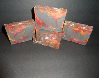 Sweet Ember Soap - Black Pepper Soap - Black Orchid Soap - Black Orchid Pepper Soap - Natural Sweet Ember Soap - Sweet Ember Soap