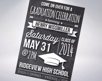 Graduation Invitation; Postcard Optional