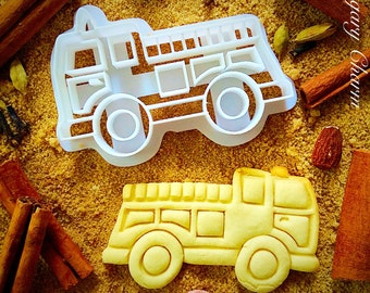 Fire truck cookie cutter