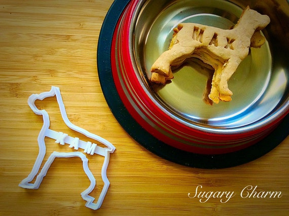 Personalized Boxer cookie cutter