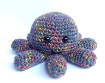 Crochet Amigurumi Octopus- ready to ship