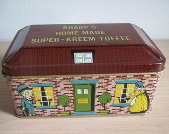 Vintage Sharp's Super-Kreem Toffee Tin