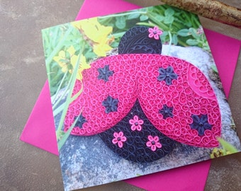 Ladybird Card - Cards For All Occasions- Mother's day card