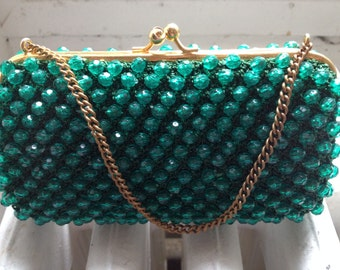 Small Green Evening Purse