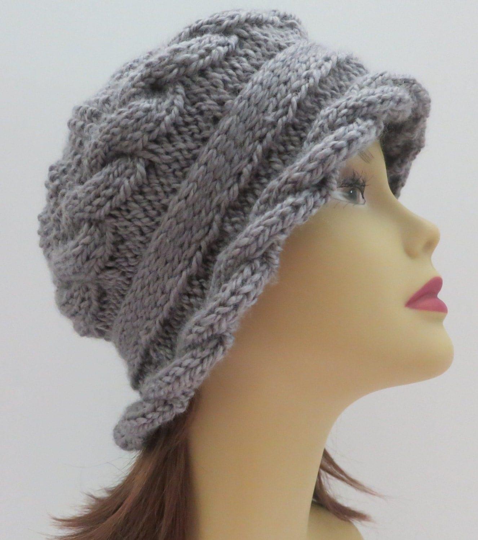 Hat Pattern Knitting Pattern PDF 155 Knitting Hat Pattern