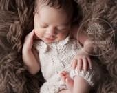 Short Overalls Pattern, Newborn Size, Knitted Overalls Pattern, Siri