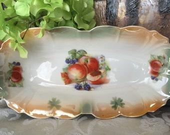 Vintage Celery Dish