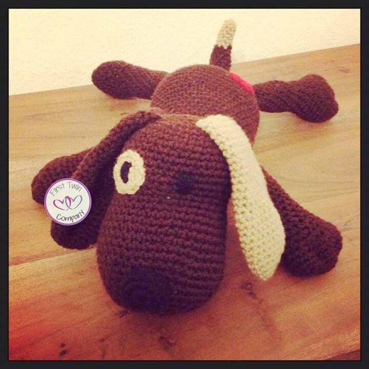 Amigurumi Dog Toy Patterns : Brownie the Puppy Dog amigurumi stuffie toy crochet pattern
