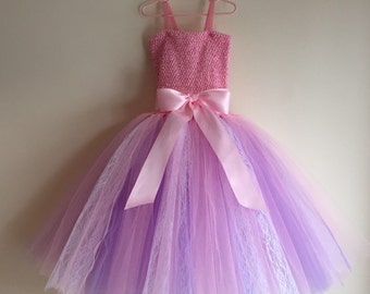 Tulle & Lace Fluffy Flower Girl/Party Dress