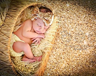 10ft x 8ft Gold Glitter Photography Backdrop - Gold Sparkle Photo Backdrop - Exclusive Design - Item 1970
