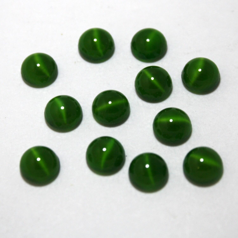 Mm Dark Green Glass Eye