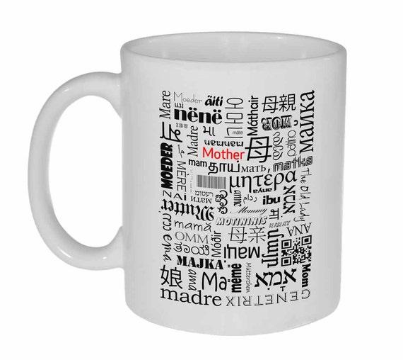 Extrêmement Mère café ou une tasse de thé mère rédigé dans différentes QV36