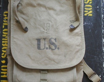 WWII Military Haversack, World War Two