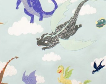 Alexander Henry - The Dragons - Item #7965A Lt. Seafoam
