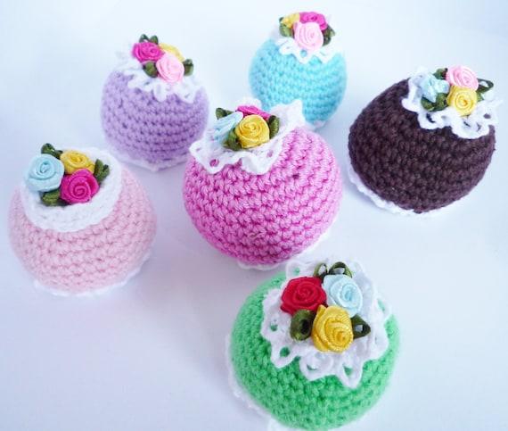 Amigurumi cupcakes crochet cupcakes